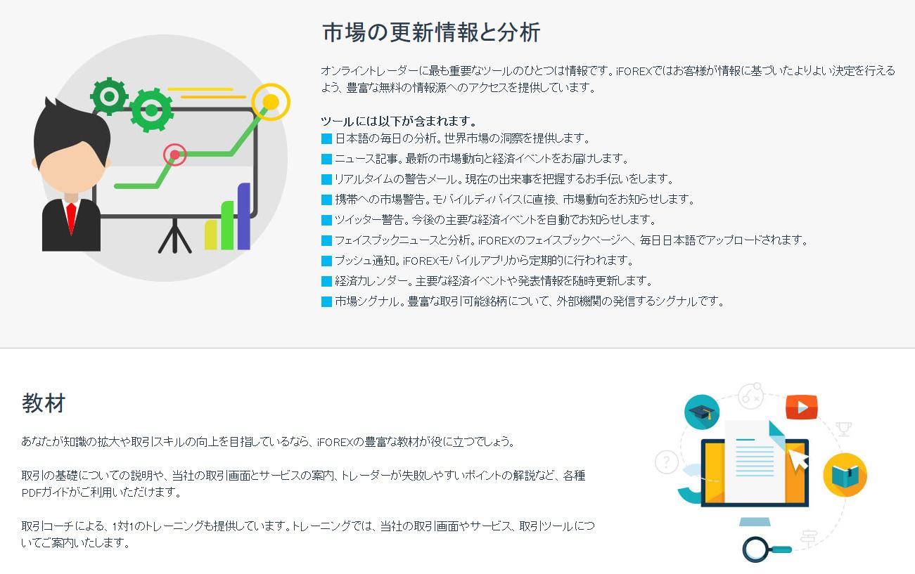 iFOREX 評判_情報が豊富なところのイメージ画像