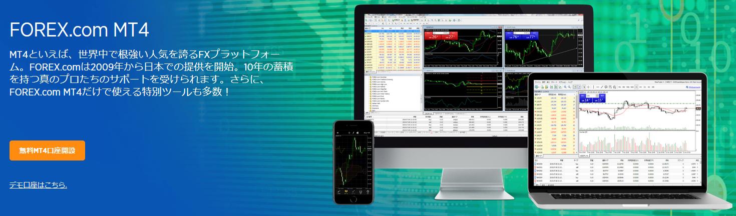 forex.com 評判_MT4のイメージ画像