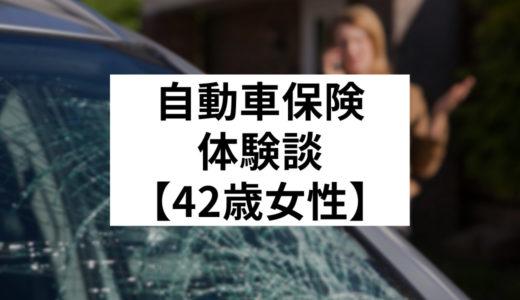 【42歳女性トヨタ・ノア】スタッドレスタイヤによる飛び石被害でフロントガラスに傷が付いた