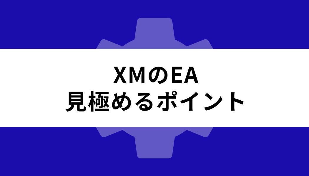 XM EA_見極めるポイント